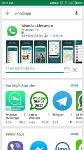 How to install Whatsapp on Anrdoid phone